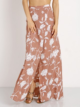 Complete the look: Roe + May London Wrap Skirt Dusty Floral