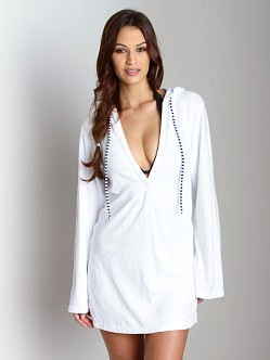 Splendid Hooded Tunic White