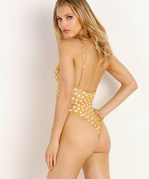 SKIN by SAME Swim One Piece Sunflower Polka Dot