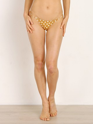 SKIN by SAME Swim String Bottom Sunflower Polka Dot