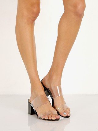 Complete the look: Schutz Victorie Heel Patent Black/Transparent