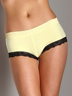 Foxers Boyshort Yellow