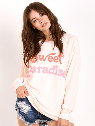WILDFOX Sweet Paradise Roadtrip Sweater Chapstick