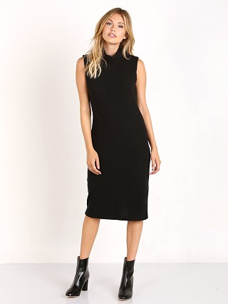 Bella Luxx Push Rib Dress Black