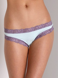 Fleur't Low Rise Thong Light Aqua