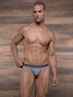 C-IN2 Pop Stripes Sport Brief Grape Grey