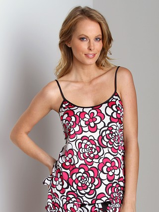 Juicy Couture Geo Floral Camisole Dragon Fruit Combo