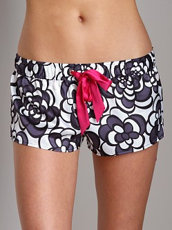 Juicy Couture Geo Floral Shorts Regal Combo