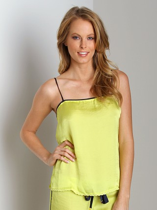 Juicy Couture Tumbled Satin Camisole Lemon Drop