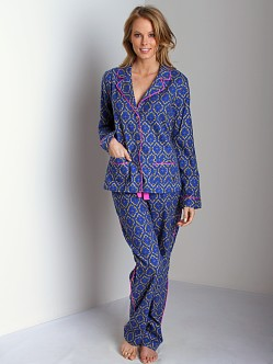 Juicy Couture Flannel PJ Set