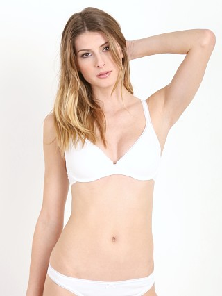 You may also like: Eberjey Pima Goddess Deep V Cami Bra White