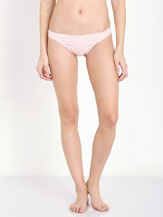 Complete the look: Eberjey Pima Goddess Picot Edge Thong Sorbet Pink