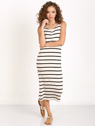 Knot Sisters Belmont Dress Navajo White/Jet Black Stripe