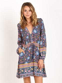 Spell Folk Town Play Dress Navy 161113b31 Free Shipping
