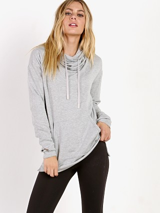 Splits59 Restart Funnelneck Pullover Heather Grey