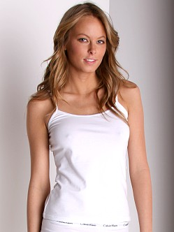 Calvin Klein Camisole With Out Shelf White