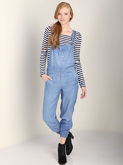 Splendid Overalls Medium Wash