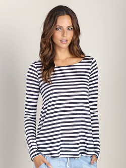 Splendid Glen Valley Stripe Tee Long Sleeve