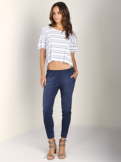 Splendid Indigo Lounge Pants Dark Wash
