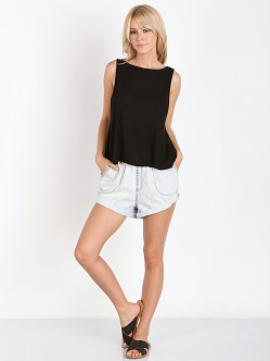 MinkPink Seeing Double Shorts Denim