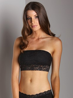 Free People Lace Bandeau Black