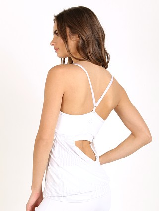 Beyond Yoga Low Back Cami White