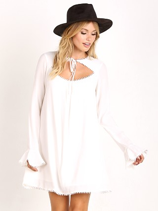 For Love & Lemons Josephina Swing Dress White