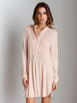 Eberjey Earth Angel Sleep Shirt Blush