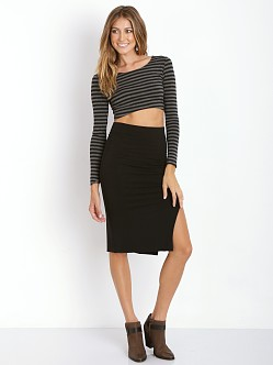 Lovers + Friends Zenia Crop Top Stripe