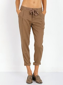 Free People Cropped Tie Pant Maple Sugar