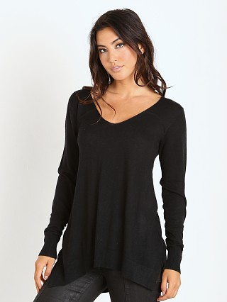 Splendid Cashmere Blend Sweater Black