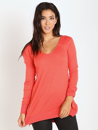 Splendid Cashmere Blend Sweater Blaze
