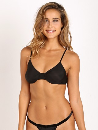 Only Hearts Second Skin Underwire Bra Black