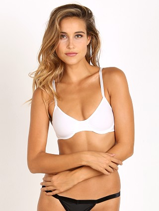 Complete the look: Only Hearts Second Skin Underwire Bra White