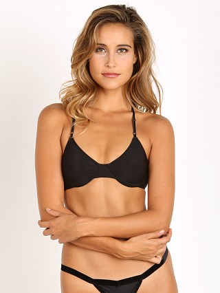 Only Hearts Second Skin Racerback Bra Black