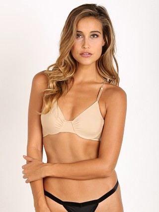 Only Hearts Second Skin Racerback Bra Nude