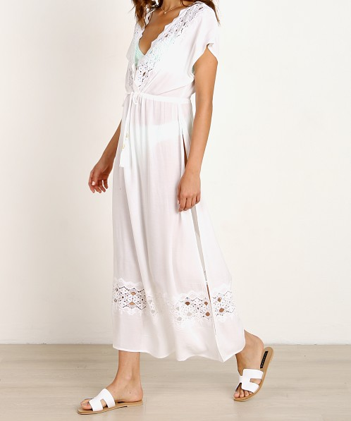 L Space Sunset Cover Up Dress White