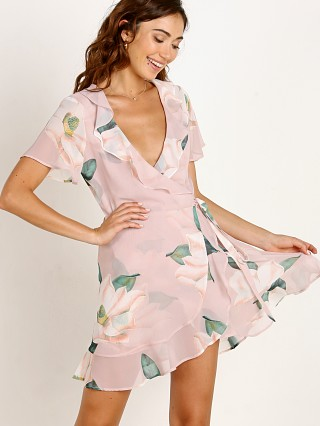 Show Me Your Mumu Winnie Wrap Dress Southern Magnolia