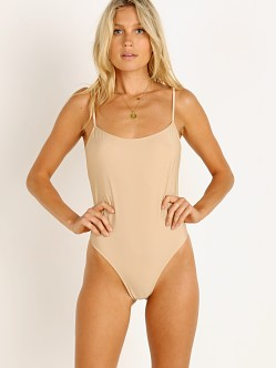 Only Hearts Second Skin Lowback Bodysuit Nude