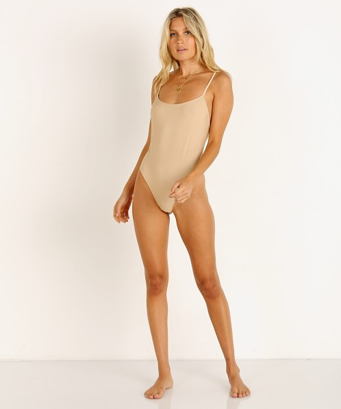 9bc945bf13 Only Hearts Second Skin Lowback Bodysuit Nude 8288 - Free Shipping at Largo  Drive