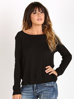Splendid 1x1 Sweater Black