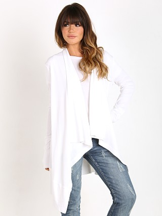 Splendid Thermal Cardigan White