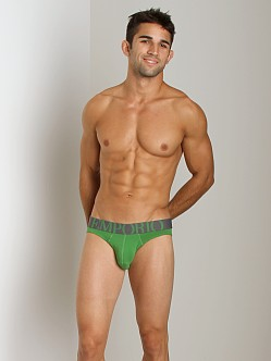 Emporio Armani Eagle Stretch Cotton Brief Mint Green