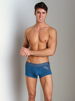 Emporio Armani Eagle Stretch Cotton Trunk Octane