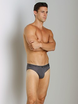 Emporio Armani Modal Hip Brief Asphalt Grey