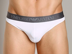 Emporio Armani Sleek & Trim Thong White