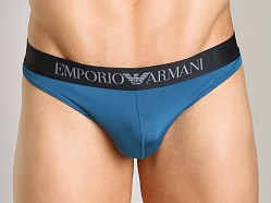 Emporio Armani Sleek & Trim Thong Octane