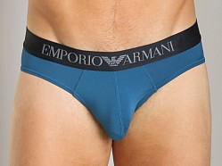 Emporio Armani Shine Waistband Brief Octane