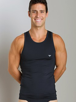 Emporio Armani Stretch Tank Top Marine