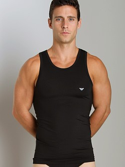 Emporio Armani Stretch Tank Top Black